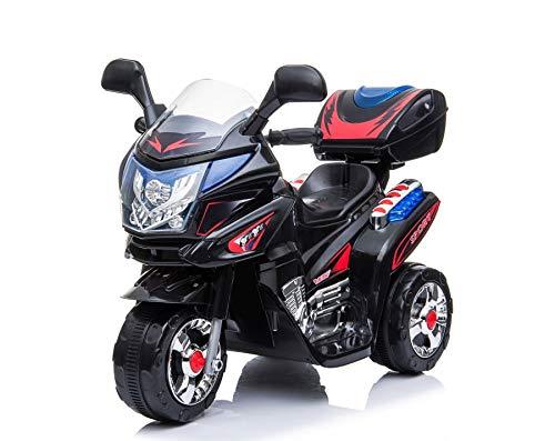 Kinderelektromotorrad Kindermotorrad Kinder Elektro Dreirad Polizei Motorrad Fahrzeug Elektromotorrad...