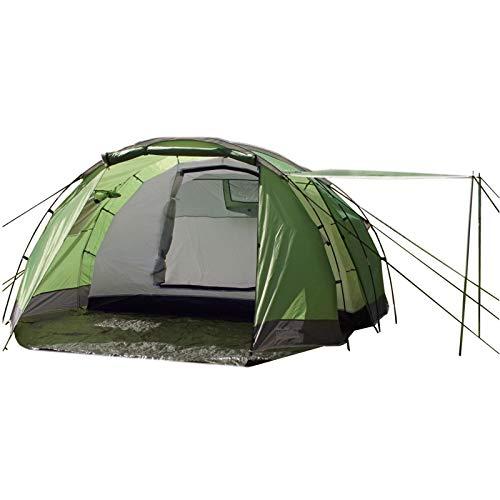 TRUTZHOLM® Tunnelzelt 4 Personen Familienzelt Campingzelt 4-Mann Zelt 3000 mm Wassersäule grün/NEU im...