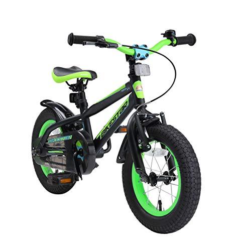 BIKESTAR Kinderfahrrad 12 Zoll für Mädchen und Jungen ab 3-4 Jahre | 12er Kinderrad Mountainbike |...