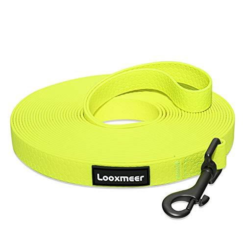 Looxmeer Schleppleine für Hunde, 3m /5m /10m /15m /20m /25m /30m Robuste Hundeleine Trainingsleine mit...