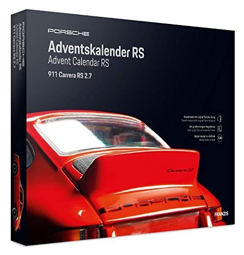 FRANZIS Porsche Carrera RS Adventskalender | in 24 Schritten zum Porsche RS unterm Weihnachtsbaum | Ab 14...