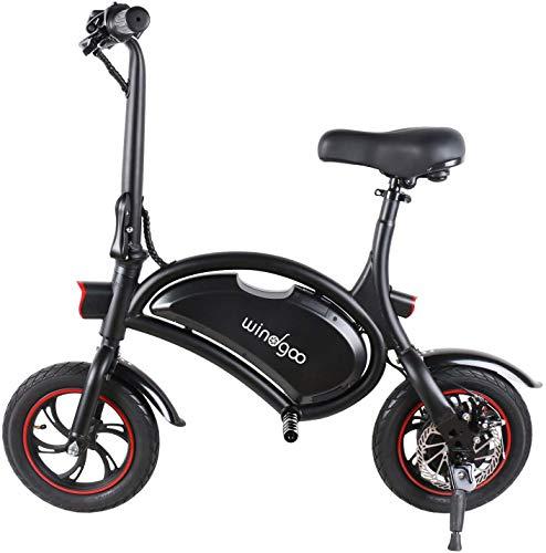 Windgoo Elektroroller, Elektro Scooter mit 350W Motor/6.0 Ah Batterie, Höchstgeschwindigkeit...