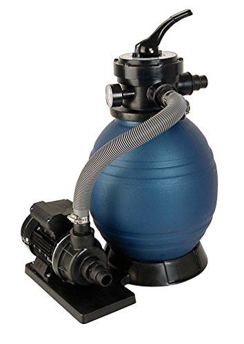 T.I.P. Schwimmbad Filter Set Sandfilteranlage SPF 180, bis 4.500 l/h