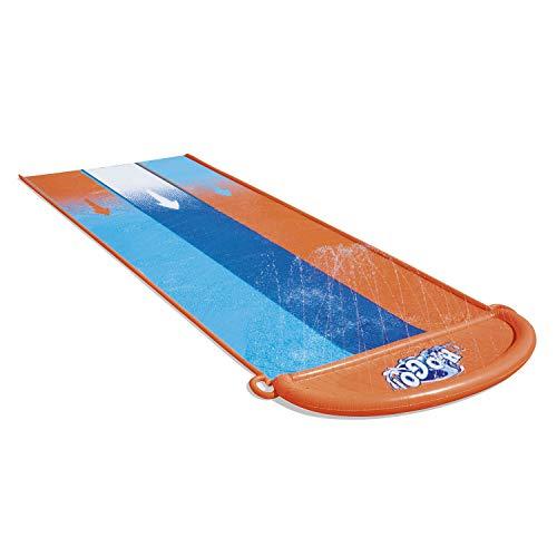 Bestway 52329 H2OGO Triple-Wasserrutsche 488 cm, color