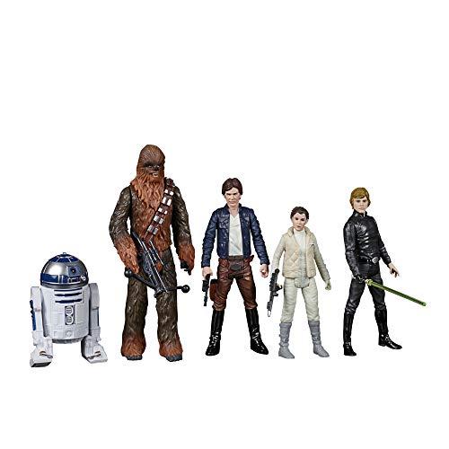 Hasbro Star Wars Celebrate The Saga Spielzeuge Rebellenallianz Figuren Set, 9,5 cm große Figuren zum...