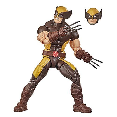 Marvel F0335 Hasbro Marvel Legends Series X-Men 15 cm große Wolverine Action-Figur, Premium Design und...