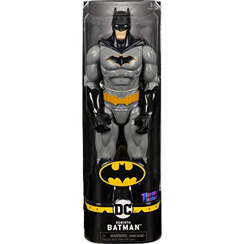 DC Comics Batman 30cm-Actionfigur - Batman Grey Rebirth