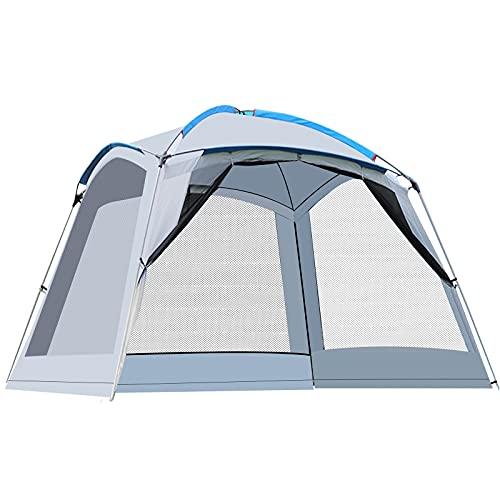 Pavillon 360x360cm High Peak Pavillon Gartenzelt Campingpavillon Partyzelt, Wasserdicht Leichtgewicht...