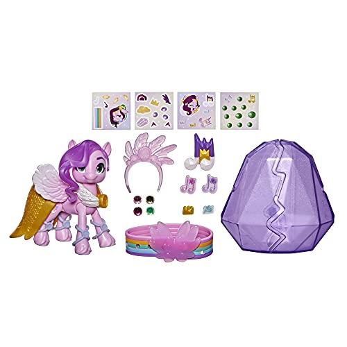 My Little Pony: A New Generation Kristall-Abenteuer Princess Petals, 7,5 cm großes pinkfarbenes Pony,...