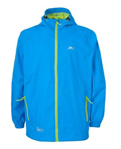 Trespass Qikpac Jacket, Cobalt, 5/6, Kompakt Zusammenrollbare Wasserdichte Jacke für Kinder / Unisex /...
