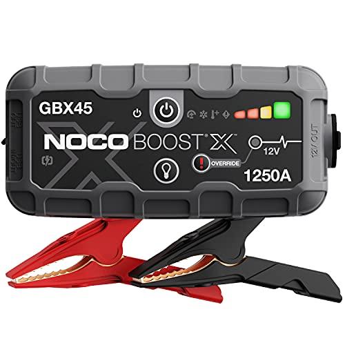 NOCO Boost X GBX45 1250A 12V UltraSafe Starthilfe, Tragbare Auto Batterie Booster, Powerbank-Ladegerät,...