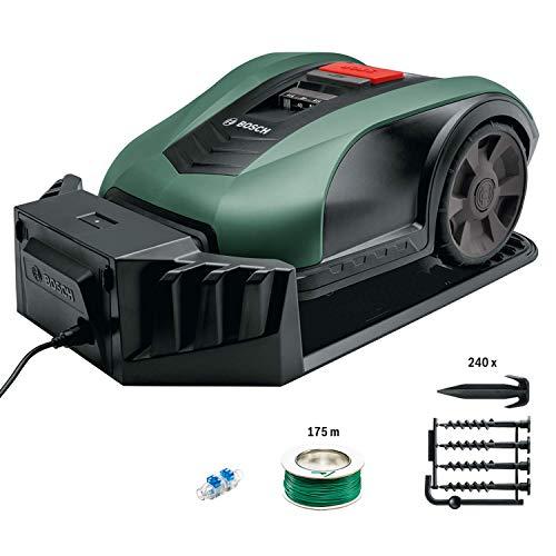 Bosch Roboter Rasenmäher Indego M+ 700 (mit App-Funktion, 19 cm Schnittbreite, für Rasenflächen bis...
