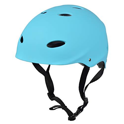 Apollo Skate-Helm/Fahrradhelm - Verstellbarer Skateboard, Scooter, BMX-Helm, mit Drehrad-Anpassung...