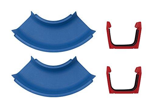 AquaPlay 102 - Kurve 2x - Erweiterungsset für AquaPlay Wasserbahnen, 2 x Kurvenelement, 2 x...