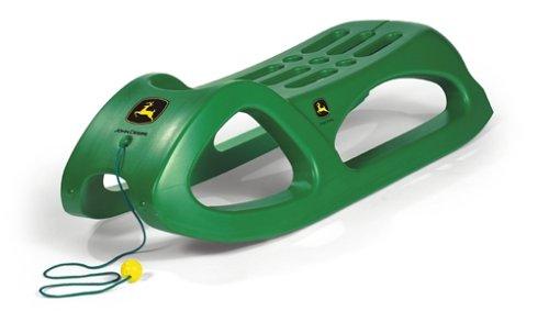 Rolly Toys Snow Cruiser John Deere: hochstabiler Schlitten für Kinder