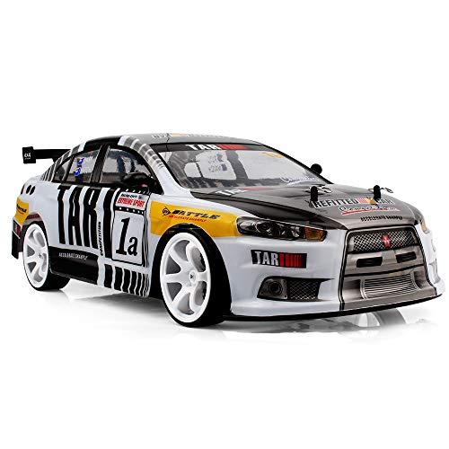 Iwähle 70km/h RC Drift Auto Spielzeug, Ferngesteuertes Auto, 4WD 1:10 2.4G Fernbedienung Drift Auto RC...