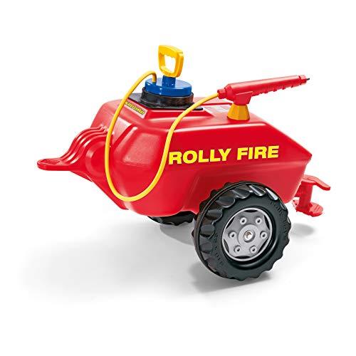 Rolly Toys 122967 - rollyVacumax Fire (für Kinder von 3 bis 10 Jahren, Fassanhänger, Pumpe mit Spritze,...
