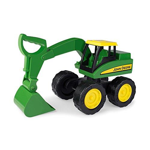 Spielzeugtraktor John Deere Big Scoop in grün, stabiler & robuster Kinderspielzeug Bagger aus Kunststoff...
