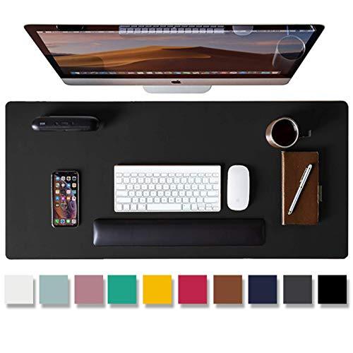 Aothia Schreibtischunterlage,PU-Leder-Schreibtischmatte,Mauspad,Rutschfester...