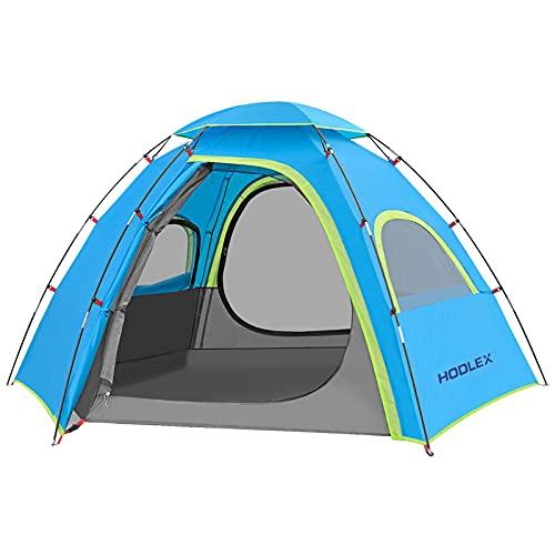 HODLEX Outdoor Camping Zelt für 3-4 Personen,mit vorzelt Zelte Wasserdicht 3500mm,Ultraleichte...