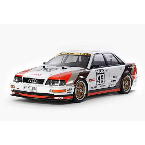 TAMIYA 58682 Audi 1:10 Modell V8 Tourenwagen (TT-02), ferngesteuertes Auto, RC Fahrzeug, Modellbau,...