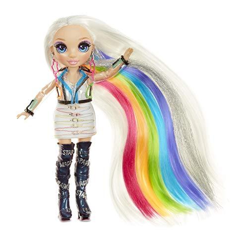 Rainbow High 569329E7C Haarstudio - Exklusive Amaya Raine Puppe mit extra langem Haar und waschbaren...