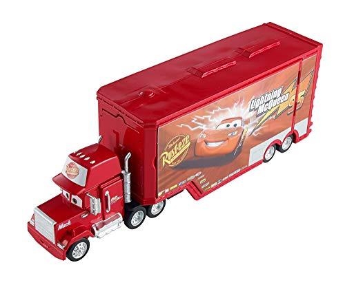 Mattel Disney Cars DVF39 - Disney Cars Mack Transporter Auto Spielzeug Spielset ab 4 Jahren