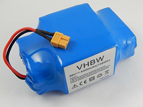 vhbw Akku 36V passend für Diverse Hoverboards, Balance-Boards, Segways z.B. von Gyropode, Viron, Razor,...