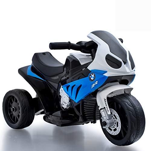 Daliya Elektro Kindermotorrad Kinderfahrzeug Elektro-Dreirad mit Akku Kinder Elektromotorrad S1000RR...