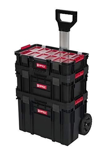XL Werkzeugtrolley, Werkstattkoffer Set, Werkstattwagen Set aus'Q-Brick' Serie mit viel Zubehör! B x T x...
