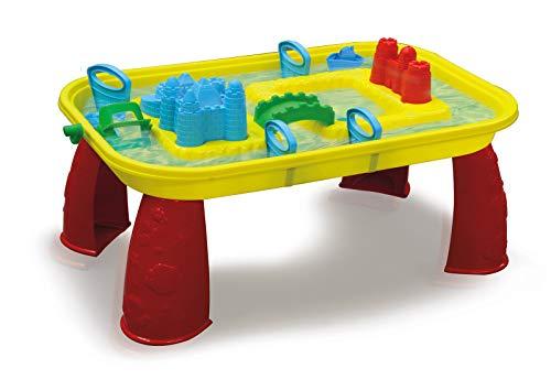 JAMARA 460344 - Sand-und Wasserspieltisch Castle-mit Wasser befüllbar, einfache Montage, Mehrfarbig,...