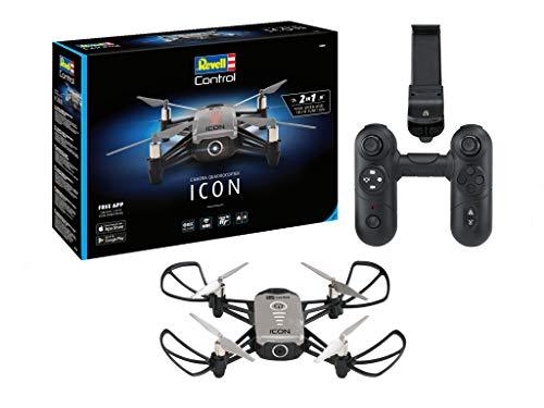 Revell Control 23825 RC Kamera-Quadcopter ICON, 720p, 2.4 GHz Fernsteuerung, auch über Smartphone-App...
