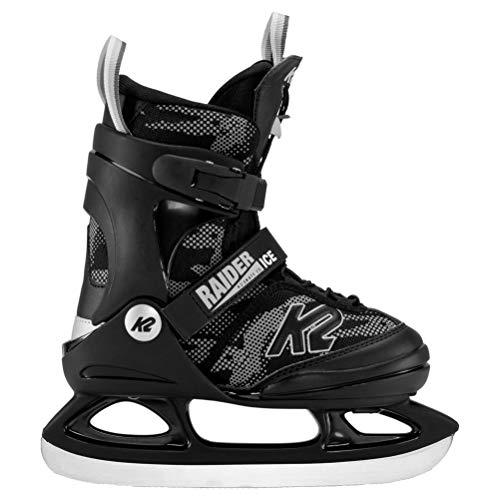 K2 Skates Jungen Schlittschuhe Raider Ice — Green - Yellow — EU: 35 - 40 (UK: 3 - 7 / US: 4 - 8) —...