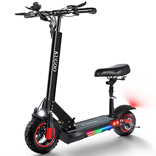 urbetter Elektroroller Erwachsene E Scooter mit Sitz 55 km Lange Reichweite E Roller 500 W 48 V 16 Ah...