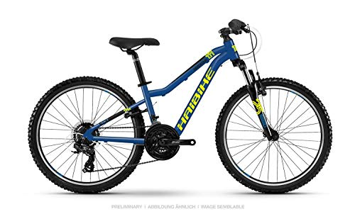 Haibike SEET HardFour 1.0 Kinder & Jugend Fahrrad 2021 (XS/30cm, Blau/Gelb/Schwarz)