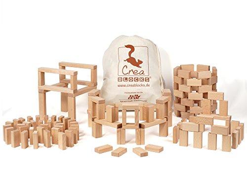 CreaBLOCKS: Holzbausteine Grundpaket