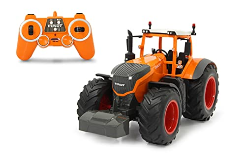 JAMARA 405045 - Fendt 1050 Vario Kommunal 1:16 2,4GHz - RC Traktor, Motorsound (abschaltbar),...