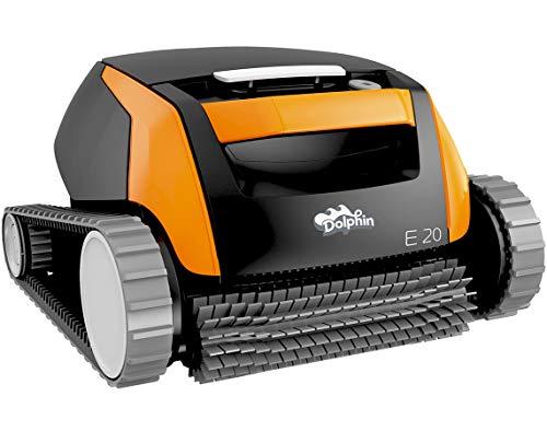 Dolphin E20 - Elektrischer Reinigungsroboter, Poolroboter mit PVC Bürste, Pool Roboter für alle...