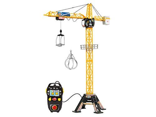 Dickie Toys Mega Crane, elektrischer Kran mit Fernbedienung, für Kinder ab 3 Jahren, 120 cm hoch, mit...