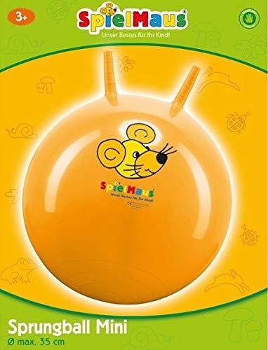 Spielmaus Outdoor Baby-Sprungball, ca.35 cm rot blau gelb sortiert