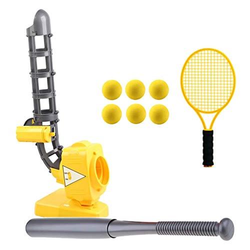 QYWSJ Baseball-oder Tennis-Pitching-Maschine Automatische Ball-Maschine, Training, Sportspiel Lernen,...