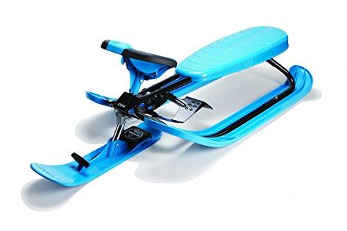 STIGA Schlitten Snowracer Rennrodel Color Pro Blau Lenkschlitten