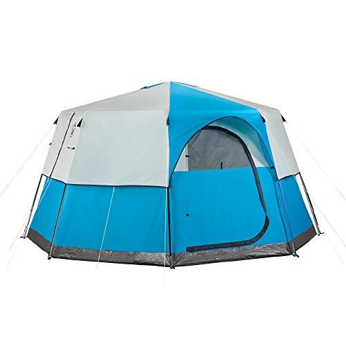 Coleman Octagon 98 8-Person Outdoor Tent Zelte, blau
