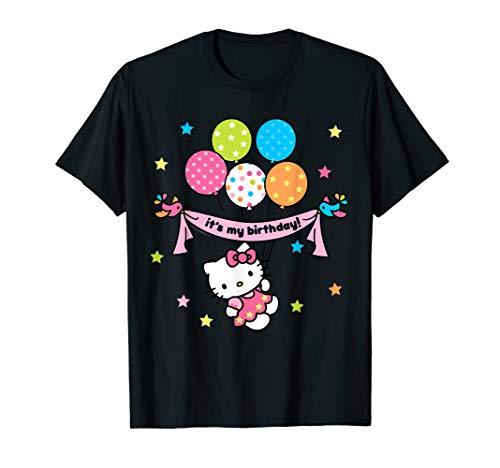 Hello Kitty It's My Birthday Geburtstag T-Shirt