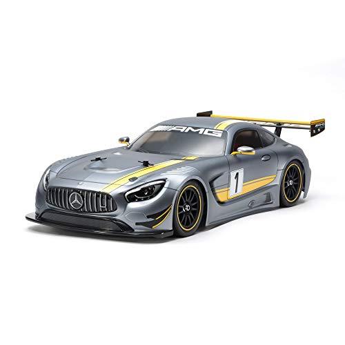 TAMIYA 58639 Mercedes-Benz 1:10 AMG GT3 (TT-02) -ferngesteuertes Auto-Elektromotor-RC Bausatz-Modell...