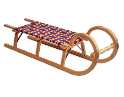 Ress Gebirgsrodel: Hörnerrodel mit Sitzfläche aus wasserabweisendem Nylon-Gurtgewebe