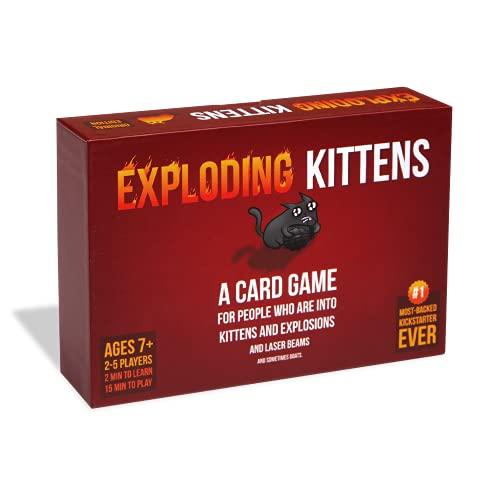 Exploding Kittens -Ein Kartenspiel über Katzen und Explosionen und manchmal Ziegen