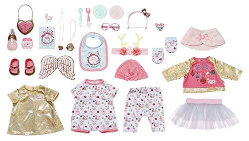 Baby Annabell Zapf Creation 703366 Puppen Adventskalender für Kinder mit Puppenkleidung und...