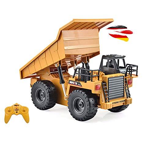 HSP Himoto RC Ferngesteuerter Kipper Tieflader Dump Truck 2.4GHz Edition, kippbarer Ladefläche und...