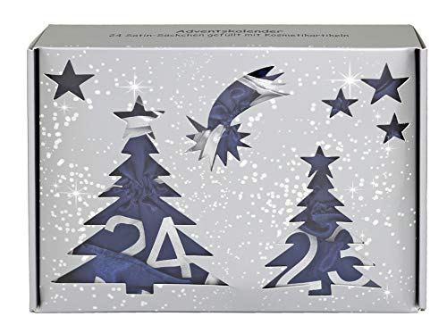Briconti Make-up Adventskalender mit 24 Satin-Säckchen